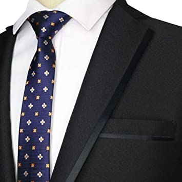 MU Ocio Hombres S Tie New Skinny 5Cm Hombres S Neck Tie ...