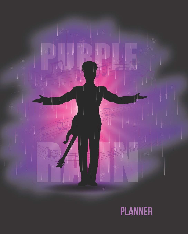 Amazon Com Purple Rain Planner 52 Week Motivational
