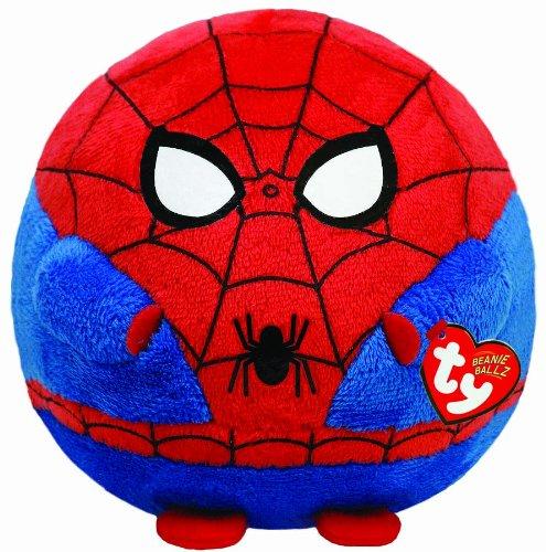 Ty Beanie Ballz Spiderman Plush - Large by TY Beanie Ballz