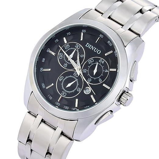 Marca de fábrica nueva llegada Dinuo reloj resistente al agua reloj de pulsera para hombre de