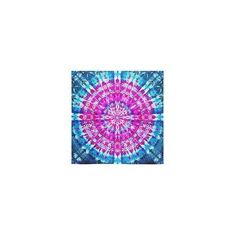 interestprint Custom Tie Dye con purpurina Mandala Hippie bohemio Boho Batik toalla de toallas de ducha ...
