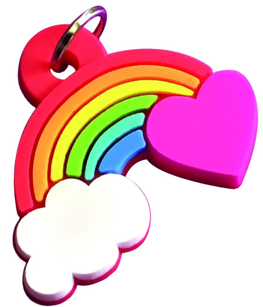 Peaceable Kingdom Rainbow Charm Unicorn Valentines - 28 Card and Envelope Pack 5