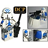 501st Legion Sniper Clone Trooper custom design Star Wars Figur gefertigt aus Lego & custom Teilen