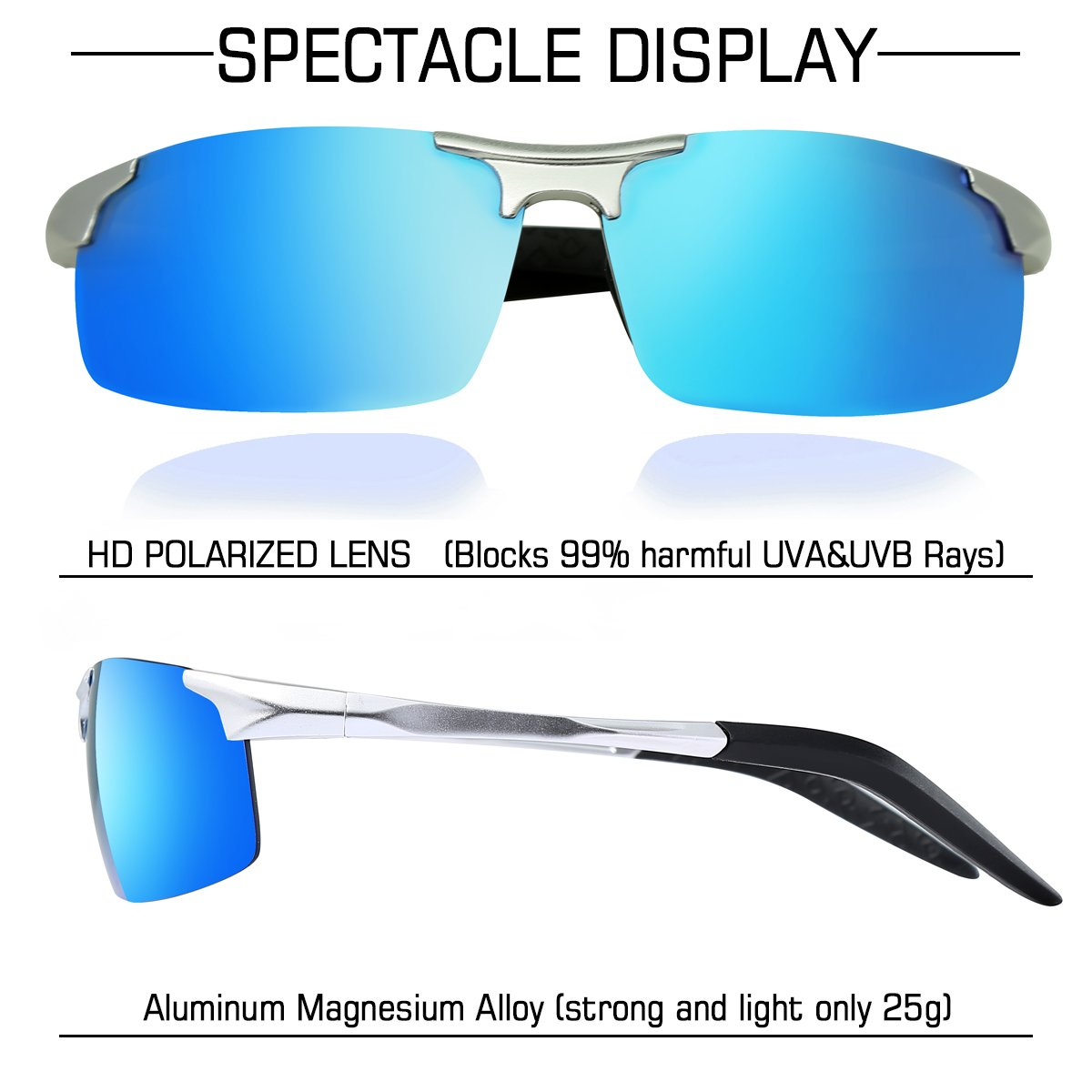 69666740bb2 Polarised Sunglasses Man wearPro Mens Cycling Sun glass Fishing ...