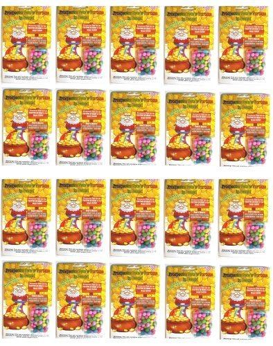 20 Packs of Prospector Pete's Fortune in Gems (Magic Stone)- Science Project Kit,great for Kid's Party