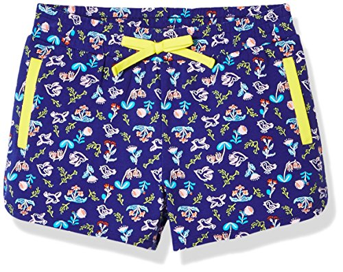 A for Awesome Girls Casual Cotton Pull On Short Medium Birds Floral AOP Pull On Spandex Shorts