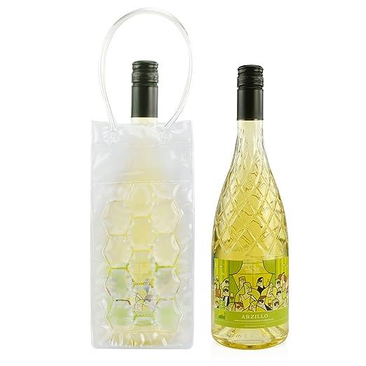 Champán Enfriador de vino bolsa plegable portátil cerveza Vodka ...