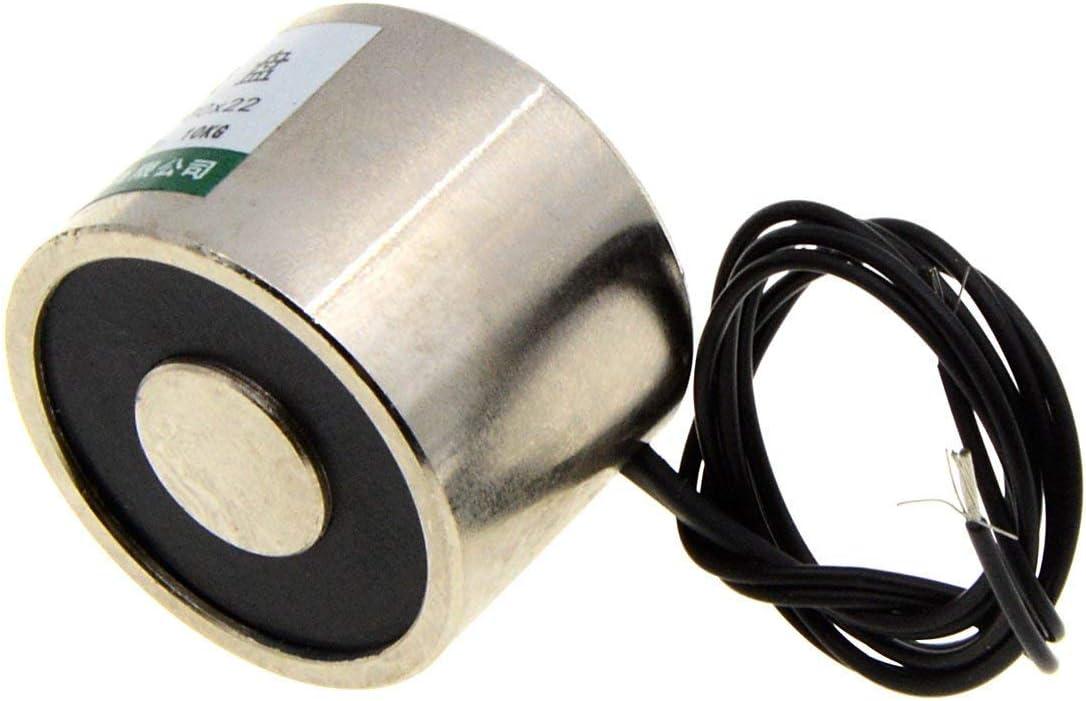 30x22 mm 12VDC 10Kg Aimant de levage /électrique Electro-aimant Sol/éno/ïde de levage