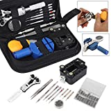 399pcs Watch Repair Tool Set Watch Back Case Remover Opener Pin Spring Bar+Bag