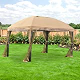 13' x 10' Domed Gazebo Replacement Canopy - RipLock 350