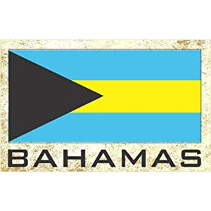 Flag Fridge Refrigerator Magnets - Americas (Country: Bahamas)