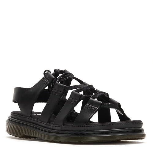 8a5484f1170 Dr. Martens Women's Kristina Fashion Sandal 20490001 Black SZ UK 5:  Amazon.ca: Shoes & Handbags