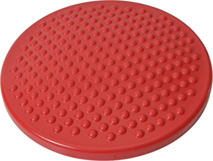 Gymnic Disc O Sit Jr Inflatable Seat Cushion Red