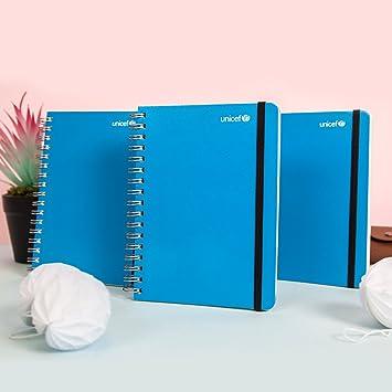 Agenda de bolsillo Mundo azul - Tú solo escribe y ella lo ...