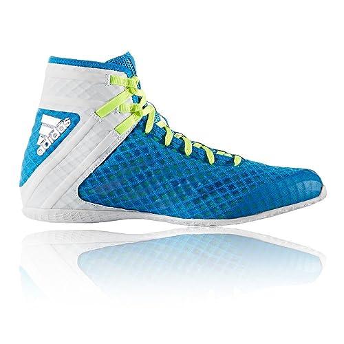 low priced 1871d e0447 Adidas Botas de boxeo Speedex 16.1 - Shock azul, Azul, UK 6 - EU