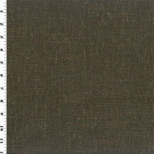 Dark Brown Zegna Herringbone Home Decorating Fabric, Fabric by The Yard