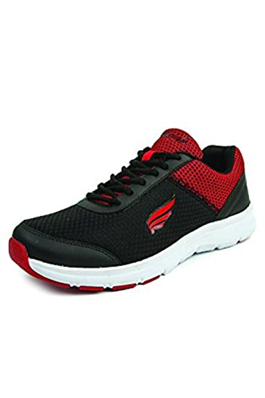 Mmojah Men Energy-39 DGRY/Org Running Sports Shoes-6