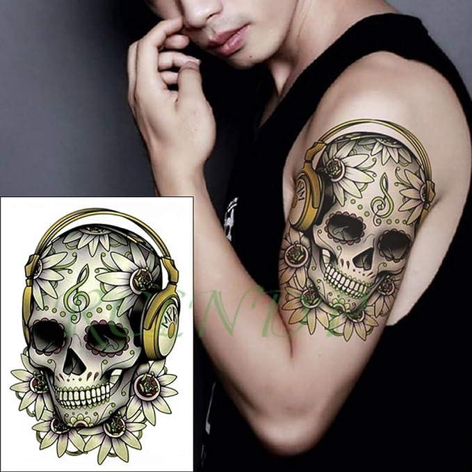 ljmljm 5pcs Impermeable Etiqueta engomada del Tatuaje del Reloj de ...