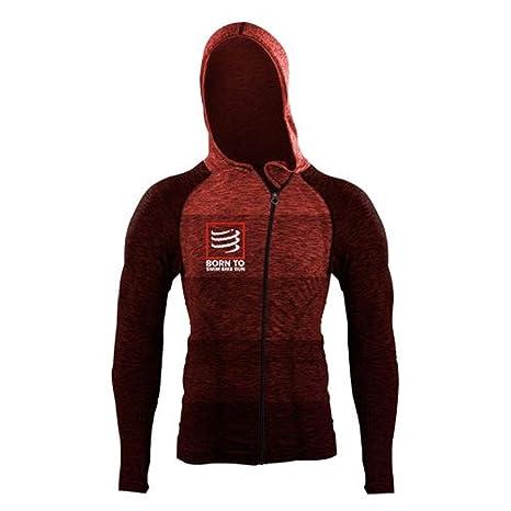 Compressport Sweatshirt /à capuche Thermo 3D Ultralight