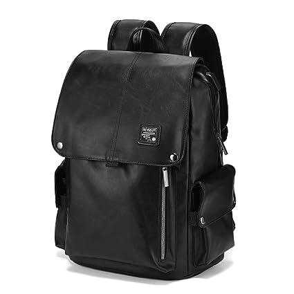 HZB Middle School Student Bag Leisure Fashion Double Shoulder Backpack Computer Bag