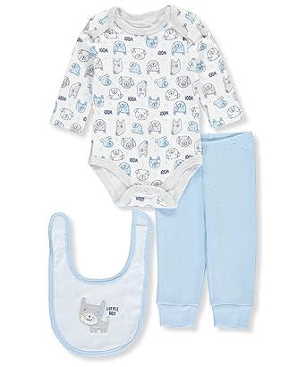 Rene  Rofe Body bavoir et tournez-moi pantalon rond 3pc ensemble pour les  bébé ffcbf55bc7a