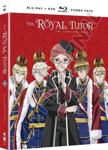 Blu-ray : The Royal Tutor: The Complete Series (With DVD, Boxed Set, Subtitled, 4PC)
