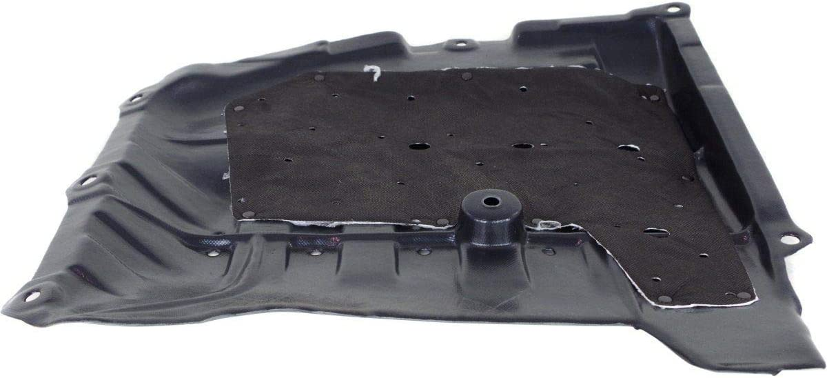 w//Insulation Foam HO1228141 74510T2AP00 For Acura TLX Front Engine Splash Shield 2015 2016 2018 Passenger Side Under Cover