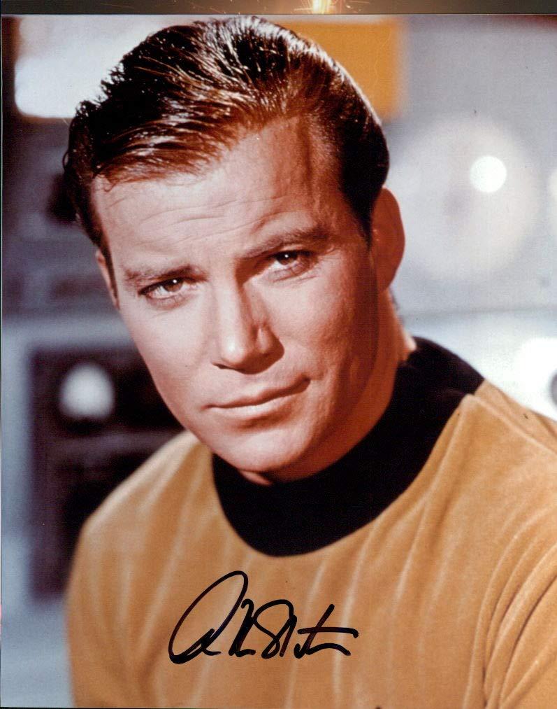 WILLIAM SHATNER (Star Trek) signed 8x10 Photo