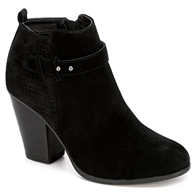 6e6b655c82 Michael By Michael Shannon Womens Zoeyy High Heel Bootie Shoes