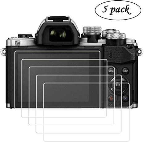 """Screen Protector for 3/"""" Olympus PEN E-PL9 Mirrorless Camera Body 5 Pack"""