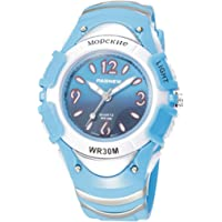 PASNEW Boys Watches, Digital LED Watches,Sports Waterproof Analog Watch Watches for Boys Girls