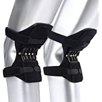Auveach Knee Booster Joint Support Breathable Non-slip Power Lift Powerful Climbing Squat Rebound Spring Force Knee Pads