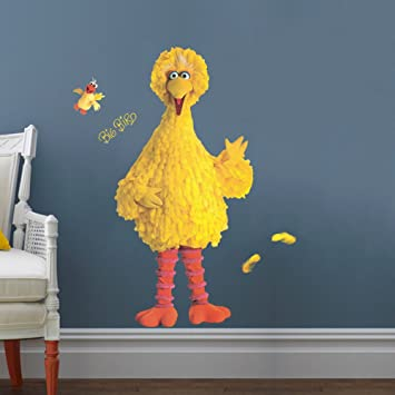 Amazon.com: DecalMile Weird Bird Wall Stickers Removable Wall Decals ...