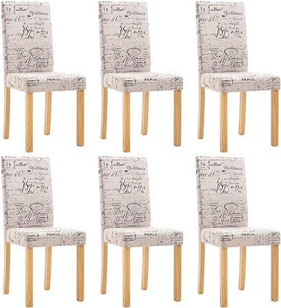 vidaXL 6X Chaises de Salle à Manger Chaises de Repas Chaises