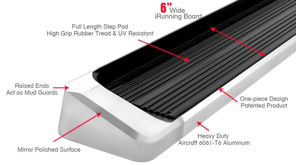 Nerf Bars | Side Steps | Side Bars iBoard Running Boards Style Custom Fit 2009-2015 Honda Pilot Sport Utility 4-Door /& 2009-2013 Acura MDX