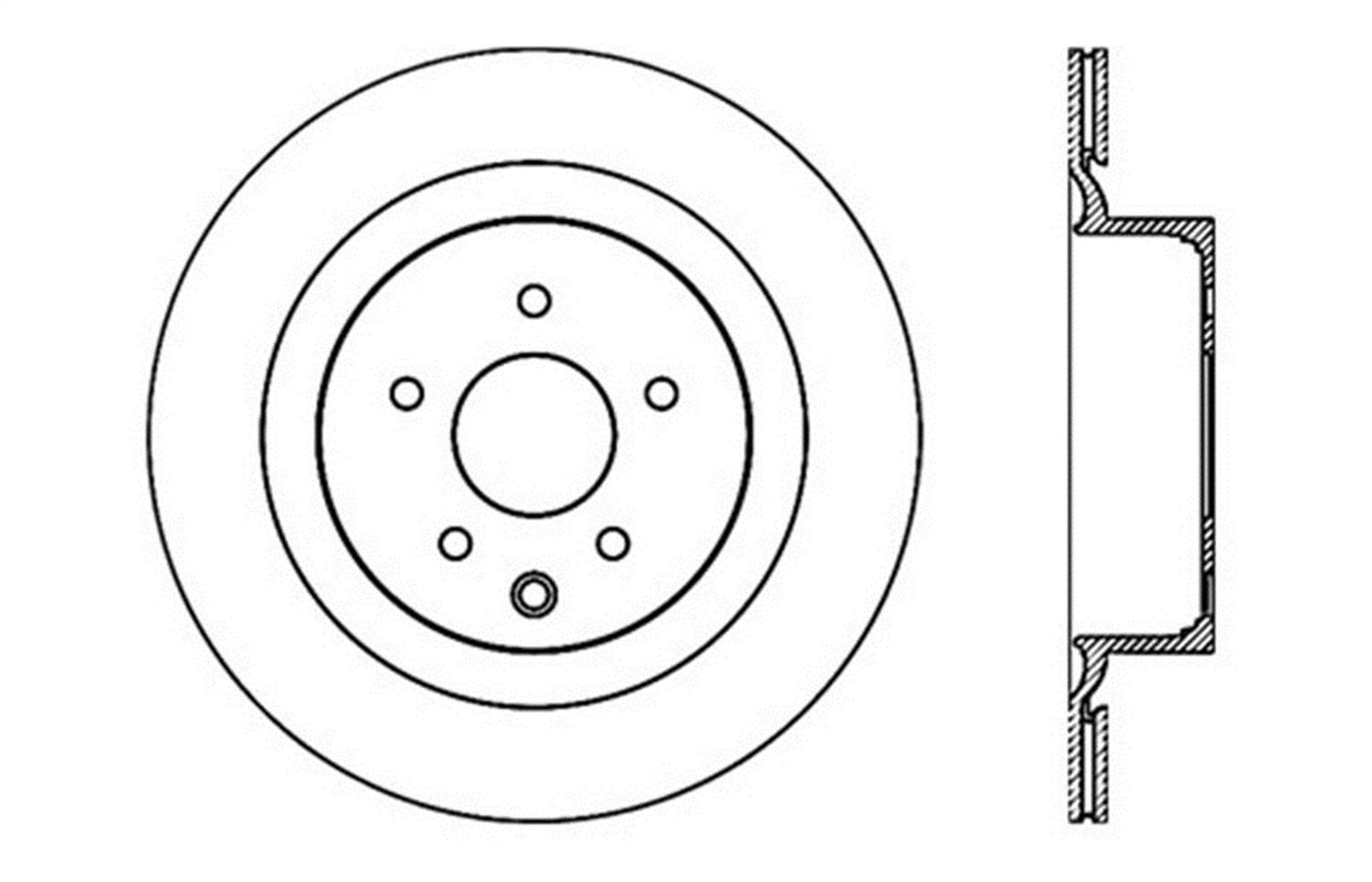 128.42093CL Brake Rotor StopTech