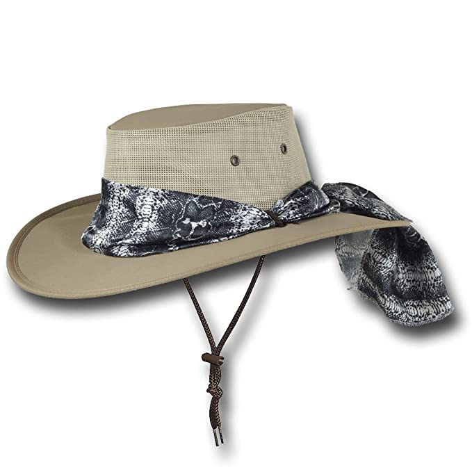 Barmah Hats Ladies Canvas Drover Hat - Item 1047