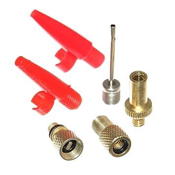 6er válvula adaptador de bicicleta válvula válvula Sclaverand bomba de aire colchón para compresor & bicicleta