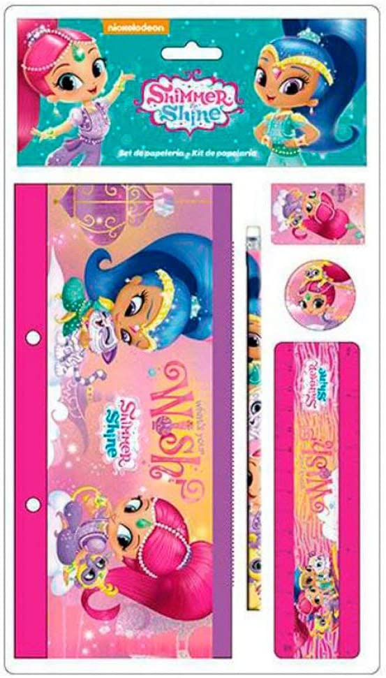 ALMACENESADAN 2391; Pack Escolar Shimmer and Shine en Blister; 5 ...