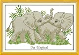 Happy Forever Cross Stitch Animal ,the elephant