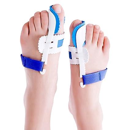 7f6f740cb5c Emma Pair of Bunion Splint Corrector Hallux Valgus Straightener Toe  Separator Support  Amazon.co.uk  Kitchen   Home