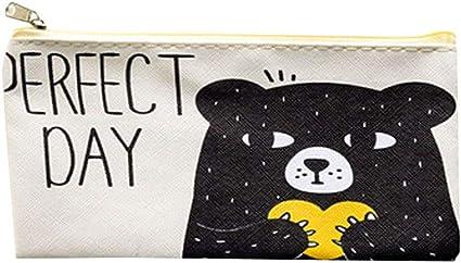 1 estuche de papel de carta de Fansi, con dibujos de Oxford impermeable, para el colegio, para uso diario: Amazon.es: Oficina y papelería