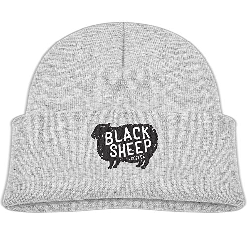 Zhaojinzhu Get To Black Sheep Coffee Baby Youth Cute Hat Toddler Infant Baby Cotton Soft Cute Knit Kids Fleece Lined Beanie Hat