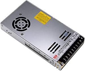 MEAN WELL LRS-350-24 DC Power Supply, 24V 14.6A 350W for 3D Printer, LED Strip Light, Industrial Control System NES/SE/S