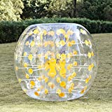 Pagacat 1.2m Giant Zorb Bubble Outdoor Soccer Bumper Ball Human Hamster Football Bubble(US STOCK)