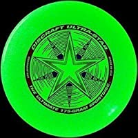 Discraft Ultra-Star 175g Ultimate Frisbee Starburst - *glow*