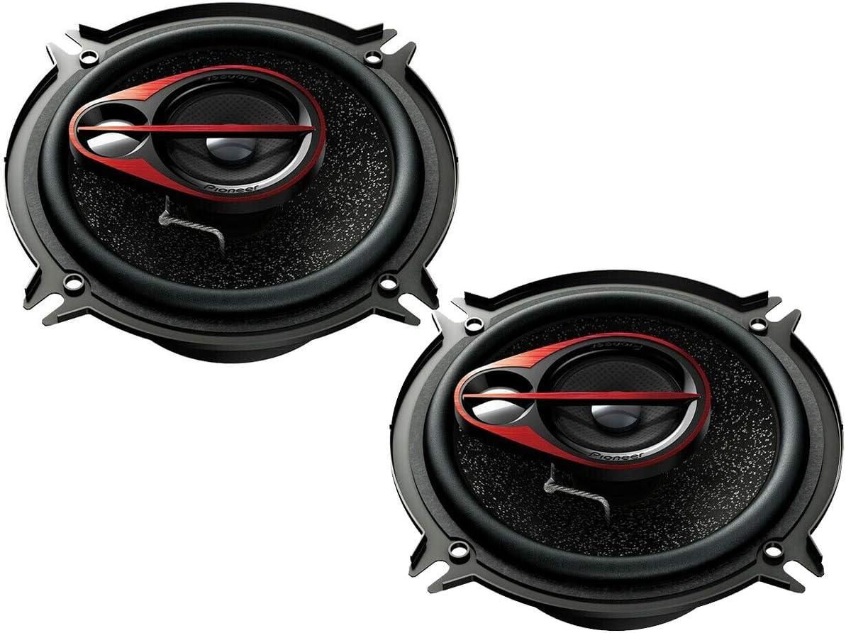 Pioneer TSG170C Lautsprecher 600 Watt 16,5cm Kompo inkl Einbauset f/ür Opel Astra J ab 12//2009