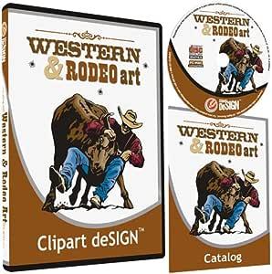 cowboy-rodeo-western-horse clipart-vinyl Cutter Plotter Clip Art ...