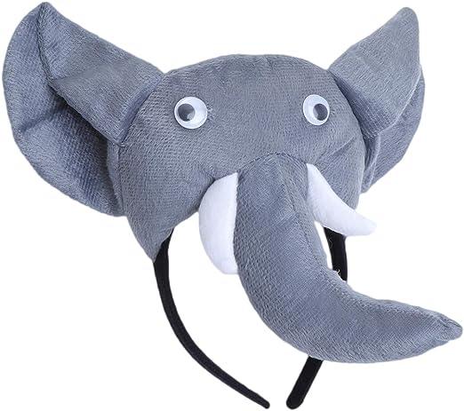 Amosfun Disfraz de Elefante Diadema de Elefante Diadema Niños ...
