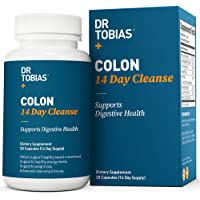 Dr Tobias Colon 14 Day Quick Cleanse - Supports Detox & Increased Energy Levels (28 Capsules)